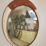 Reclaimed Convex Mirror